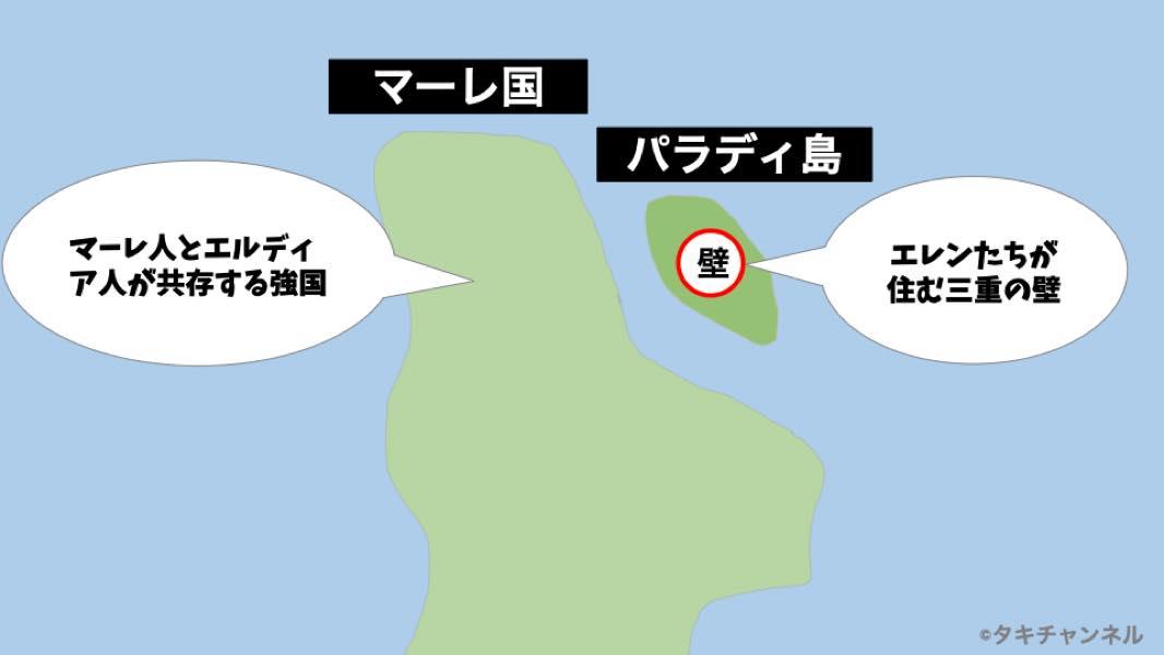 進撃の巨人TVアニメファイナルシーズン60話の地図